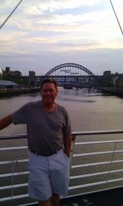 Mike on the Tyne