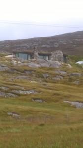 A rock house